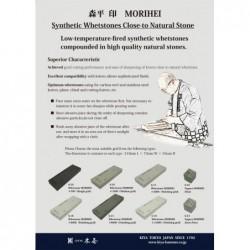 1000 brusný kámen KIYA MORIHEI - 210x75x25mm
