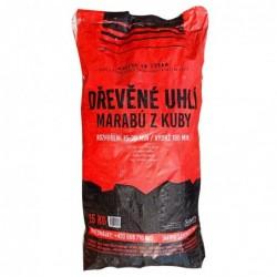 dřevěné uhlí Marabú z Kuby - pytel 15 kg