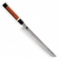 nůž Sakimaru 270 mm - Dellinger Octagonal Full Damascus