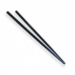 Jídelní hůlky plast, černé 24cm