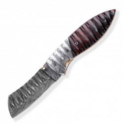 Lovecký zavírací damaškový nůž Dellinger Tanto Obsidian