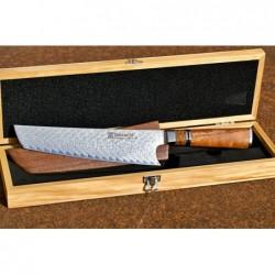 BAZAR Tanto / Chef 220mm Dellinger IKAZUCHI 200 Damascus Limited