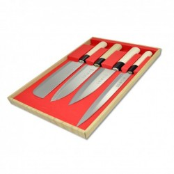 sada nožů - box 4 ks Sekyriu Japan