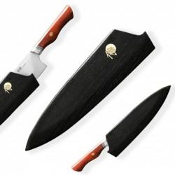 dřevěná magnetická Saya Dellinger pro nůž Chef/Gyuto do délky ostří 210 mm - šikmý bolster
