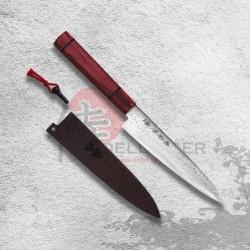 "nůž Petty 135 mm Kanetsune Damascus ""Minamo-Kaze"" series"