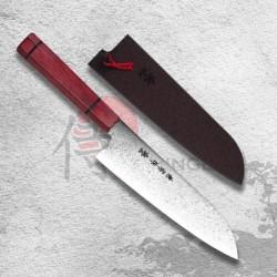 "nůž Santoku 180 mm Kanetsune Damascus ""Minamo-Kaze"" series"