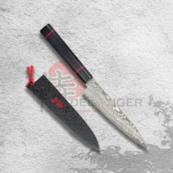 "nůž Petty 135 mm Kanetsune Damascus ""Namishibuki"" series"