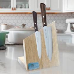 japonská 3 dílná sada kuchařských nožů s magnetickým držákem