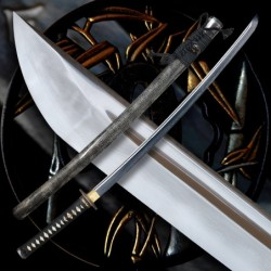 Shikai Japanese Sword z překládané oceli AISI 1075 s reálným hamonem